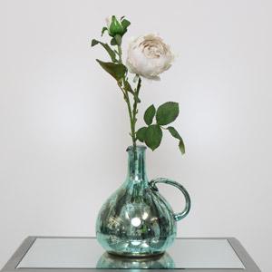 Faux Grey Peony Rose
