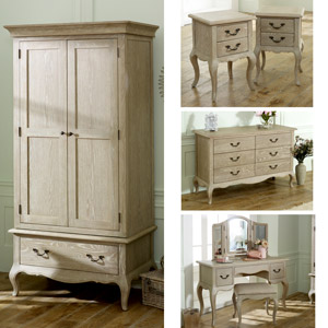 French Style Bedroom Set- Brigitte Range - Melody Maison