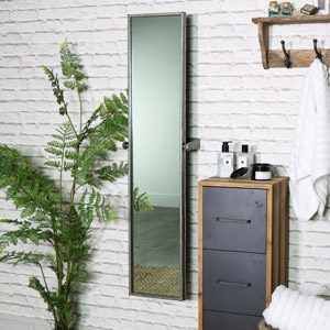 Full Length Adjustable Wall Mirror 31cm x 120cm