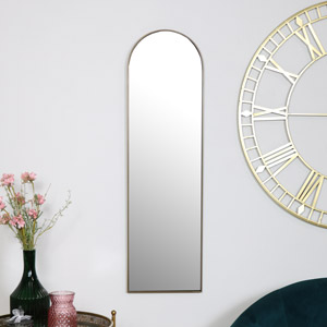 Gold Arch Wall Mirror