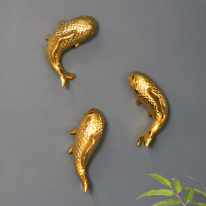 Gold Fish Wall Art