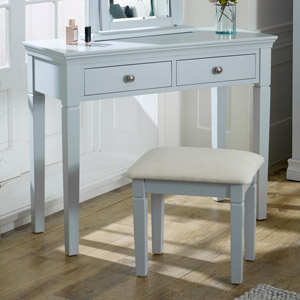 Newbury Grey - 2 Drawer Console Table