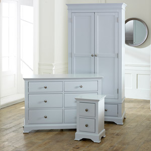 Davenport Grey Bedroom Furniture Set