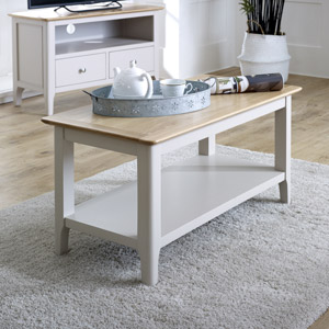 Grey Coffee Table - Devon Range