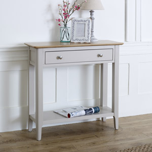Devon Range - Grey Console Table