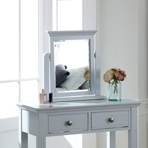 Davenport Grey Dressing Table Mirror