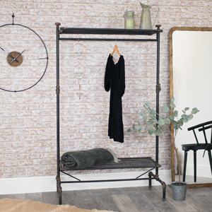 Industrial Clothing Rail