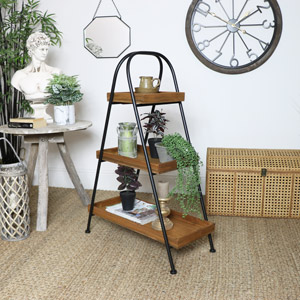 Industrial Free Standing 3 Tier Display Shelf