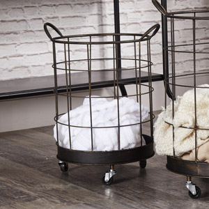 Industrial Storage Basket on Wheels