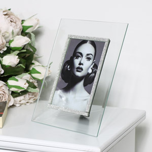 Jewelled Glass Photo Frame