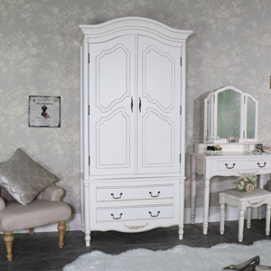 Double Armoire Wardrobe - Adelise Range
