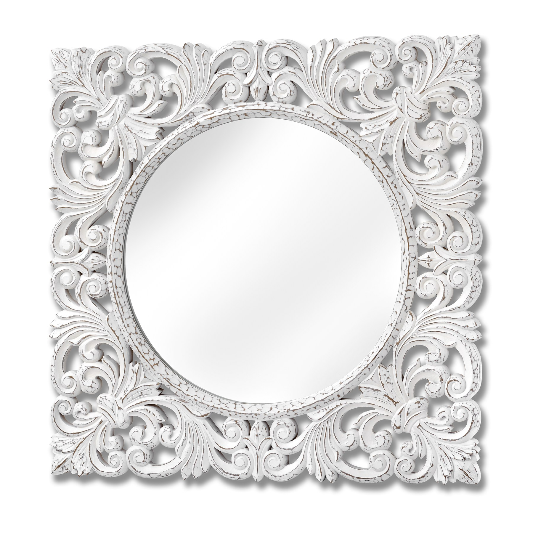 Large Baroque Style Wall Mirror