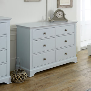 Davenport Grey Large Chest of Drawers