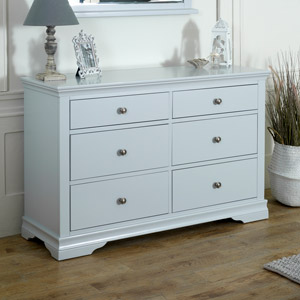 Newbury Grey Large Chest of Drawers
