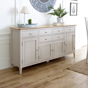 Large Grey Sideboard - Devon Range