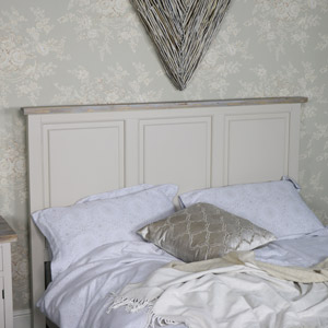 Large Kingsize Panelled Headboard - Cotswold Range
