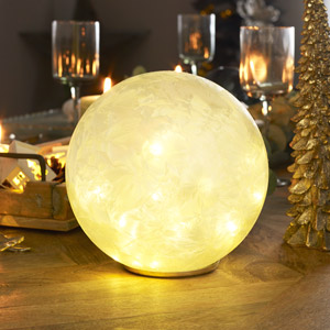 Large LED Frosted Globe Light