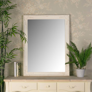 Cream Wall Mirror 62cm x82cm