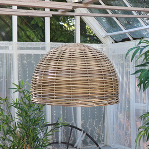Large Rattan Lamp Shade