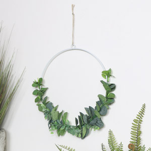 Large Round Eucalyptus Hanging Decoration
