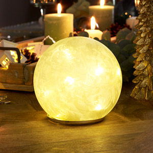 LED Frosted Globe Light