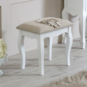 Dressing Table Padded Stool - Lila Range
