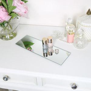 Long Glass Display Tray