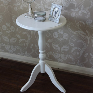 Louella Range - Ivory Occasional Round Table