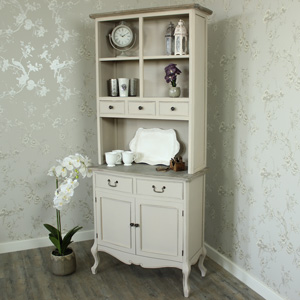 Louisiana Range - 5 Drawer Display Cupboard