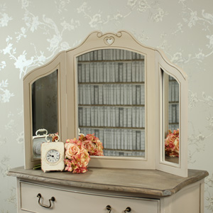 Louisiana Range - Triple Dressing Table Mirror
