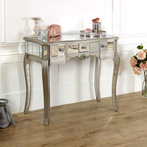 Tiffany Range - 3 Drawer Mirrored Console Table