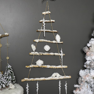 Nordic Rope Ladder Christmas Tree