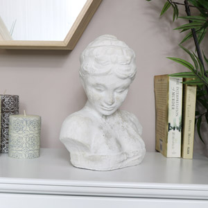 Ornamental Stone Bust