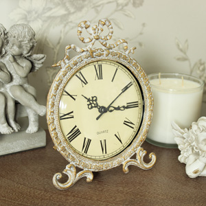 Ornate Gold Mantel Clock