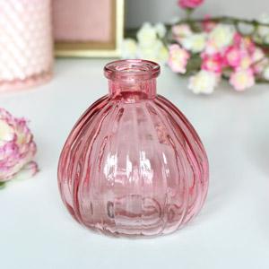 Pink Glass Bottle