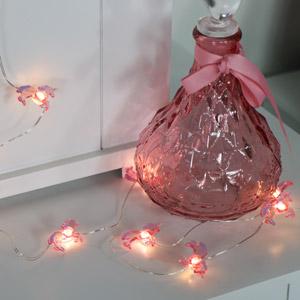 Pink Unicorn Fairy lights Garland