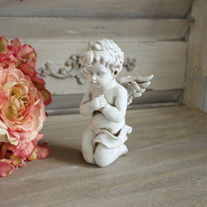 Praying Cherub Ornament
