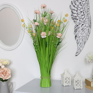 Pink Spring Artificial flower Bouquet