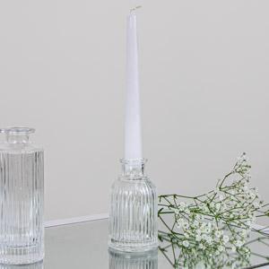 Reeded Glass Budvase