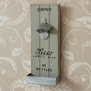 Retro Wall Mounted Bottle Opener