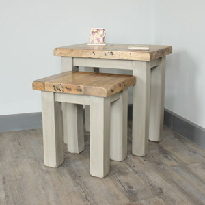 Richmond Range - Grey Nest of Two Tables
