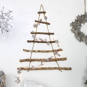 Rope Ladder Hanging Christmas Tree