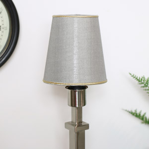Round Grey Lampshade