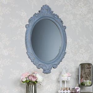 Rustic Baroque Style Wall Mirror