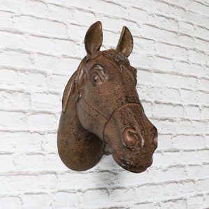Decorative Rustic Horse Head