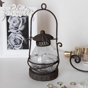 Rustic Metal Candle Lantern