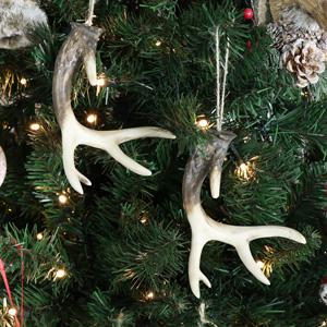 Set of 2 Hanging Antlers