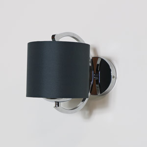 Silver Metal Wall Light