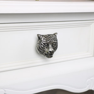 Silver Tiger Drawer Knob