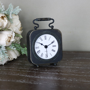 Small Black Mantle Carriage Clock